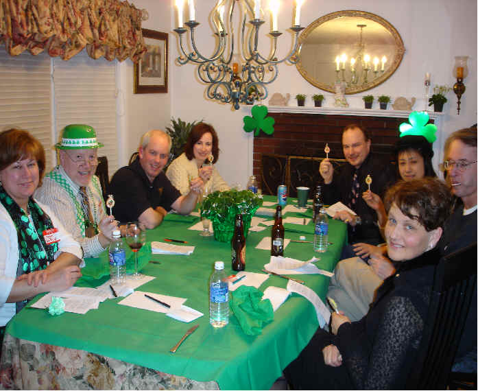 Boston St. Patrick's Day Murder Mystery Party Kit