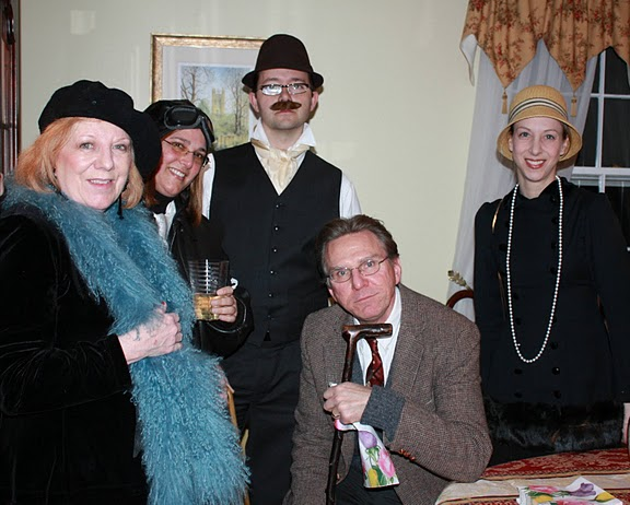 Pennsylvania Murder Mystery Party The Cat Screamed at Midnight