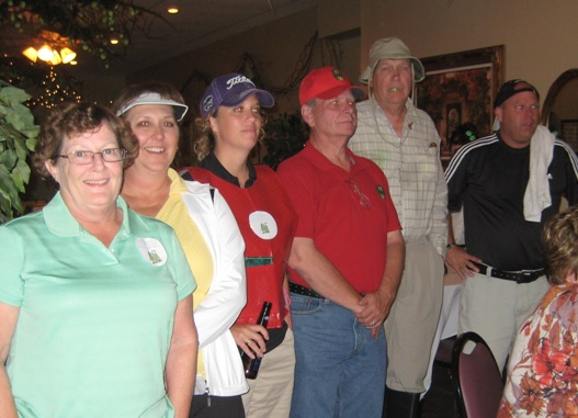 Golf Murder Mystery party at Kansas Country Club