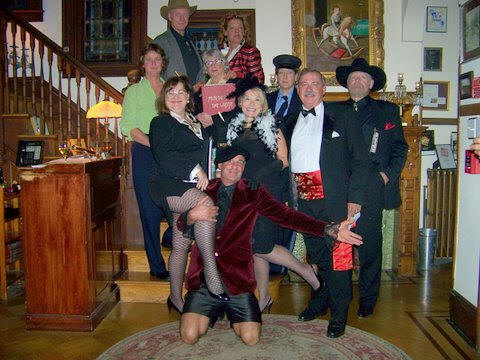 cast of Delaware murder mystery party